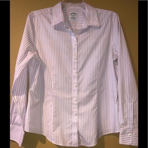 Brooks Brothers Tailored Button Down Shirt.
